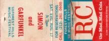 Forest Hills 17081968 Matches sideways